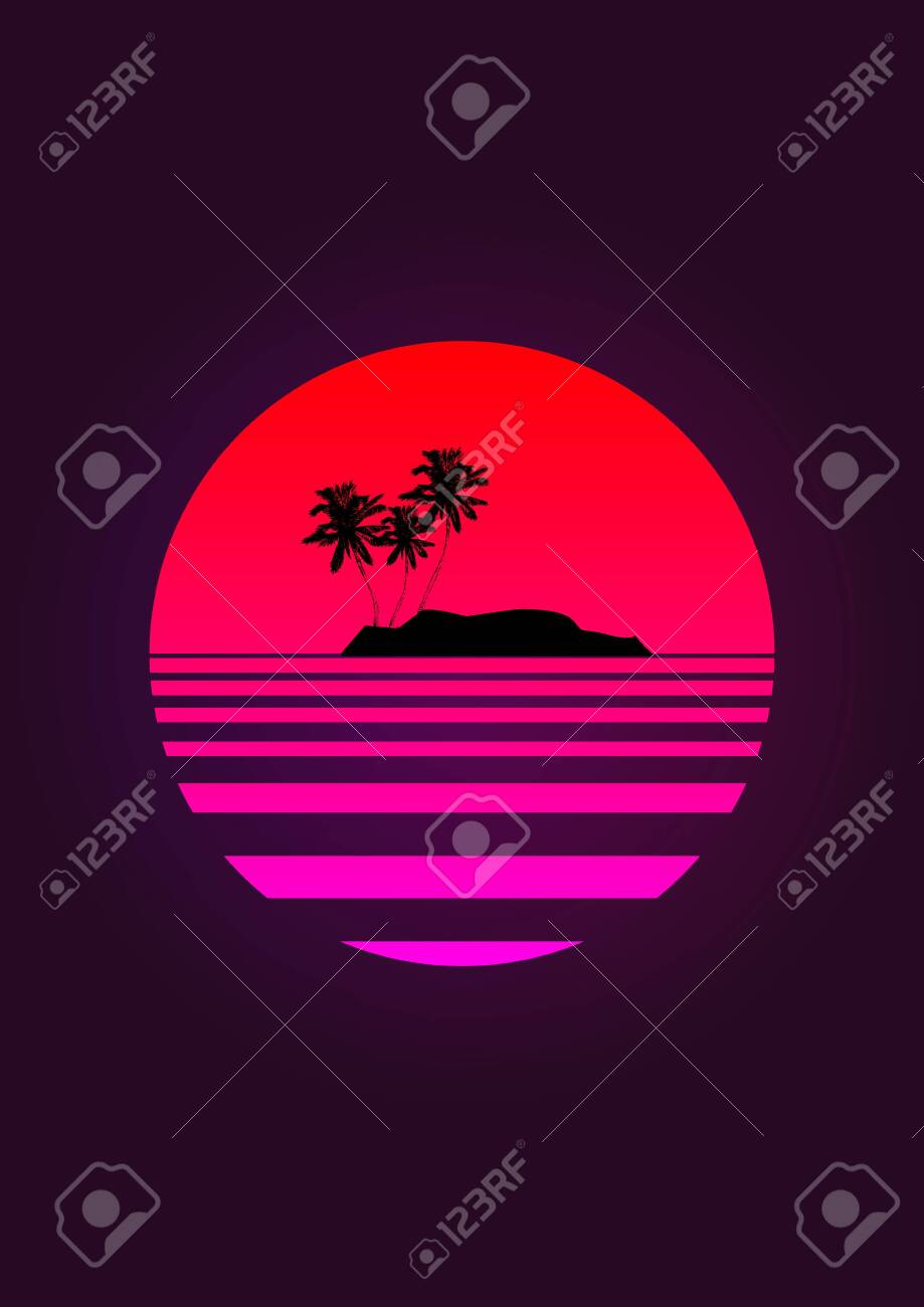 View Palm Tree Vaporwave Pics