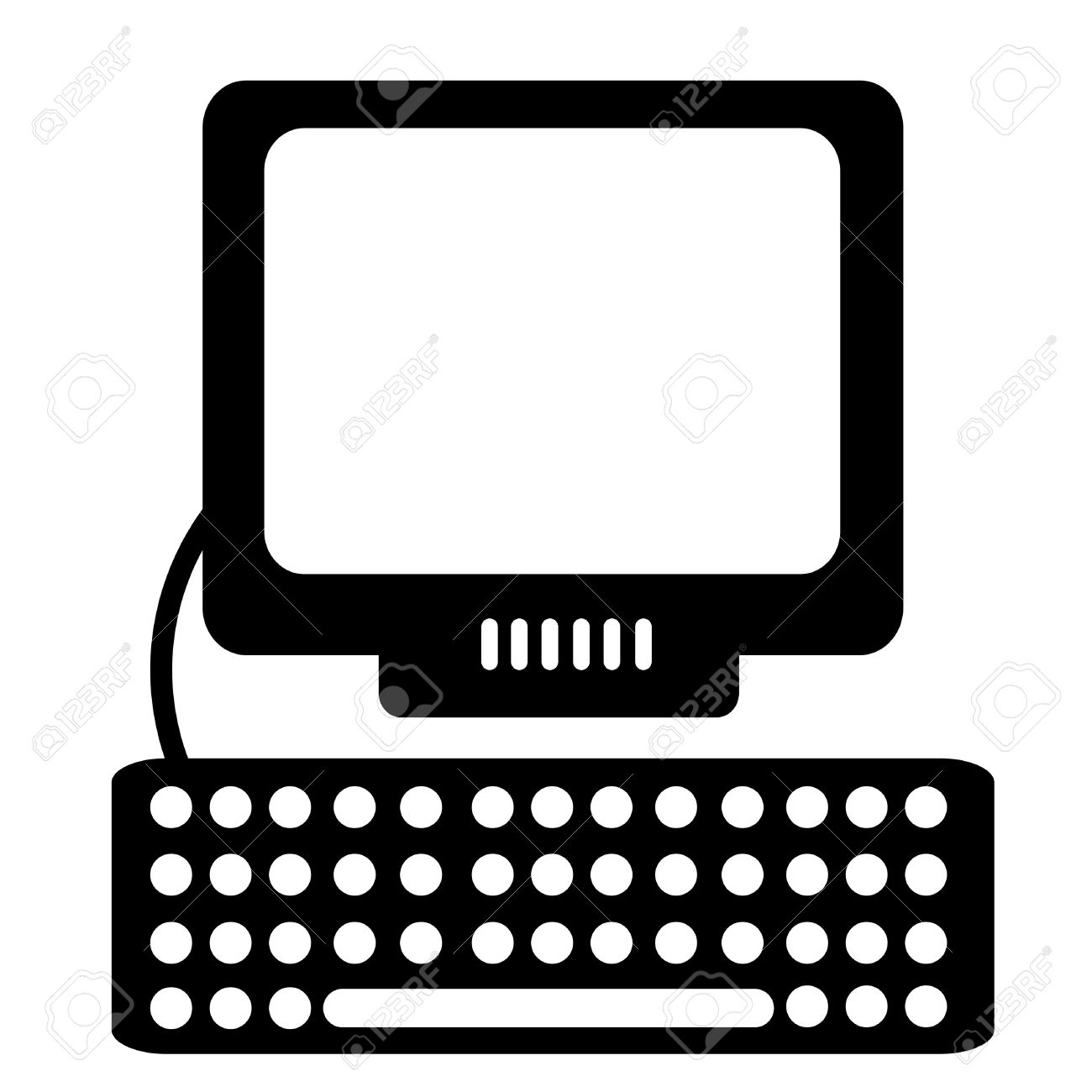computer clipart stock photo picture and royalty free image image rh 123rf com free computer clipart for teachers free computer clipart png