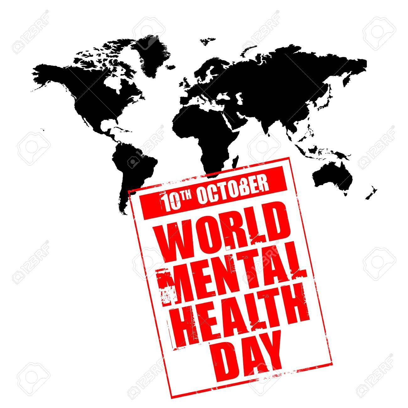 10th october - world mental health day Stock Photo - 3673989