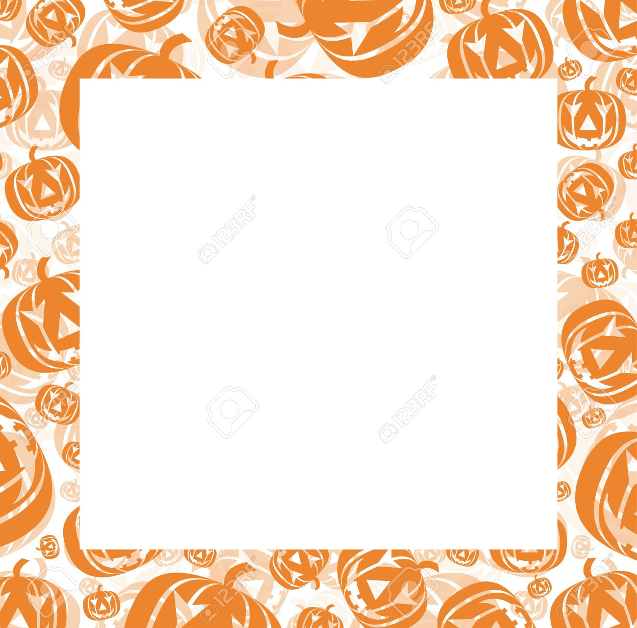 Halloween Frame Stock Photo, Picture And Royalty Free Image. Image ...