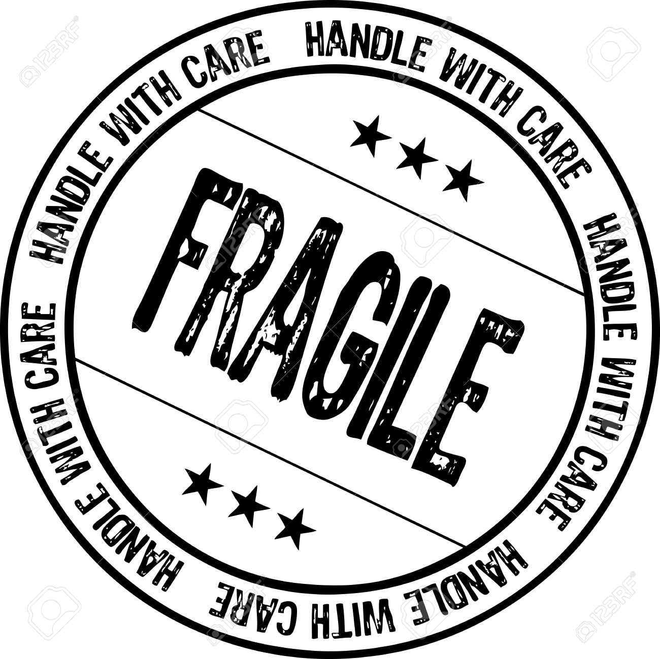 fragile - handle with care Stock Photo - 6778431