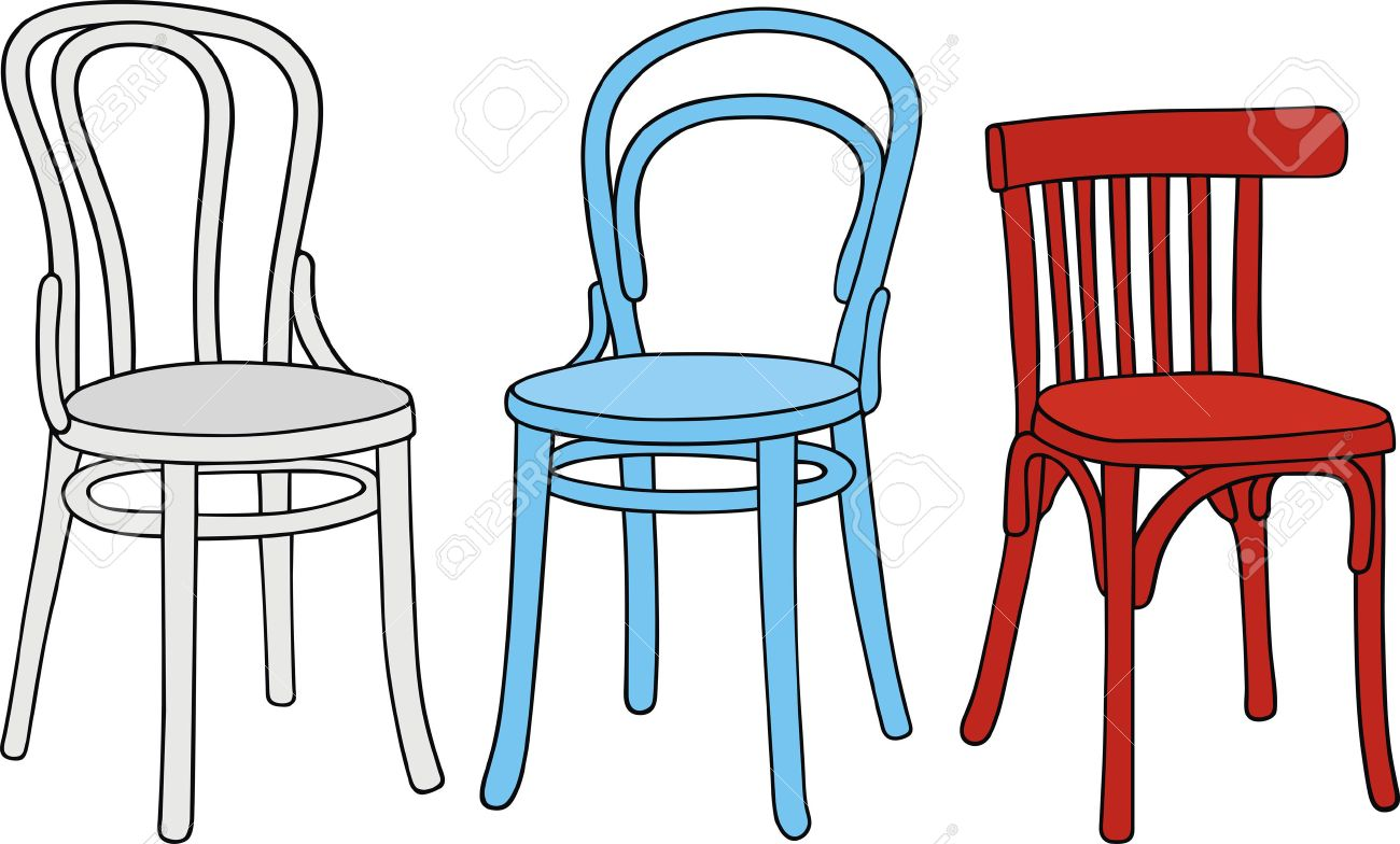 Hand Drawing Of Classic Chairs Stock Vector   22266094
