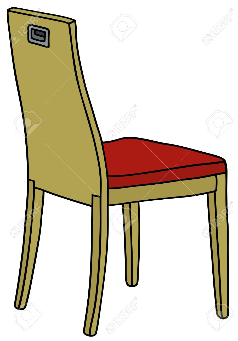 Hand Drawing Of A Wooden Chair Royalty Free Cliparts Vectors And