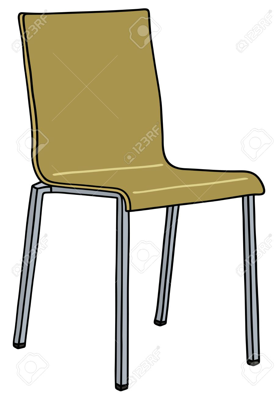 Hand Drawing Of A Modern Simple Chair Royalty Free Cliparts Vectors