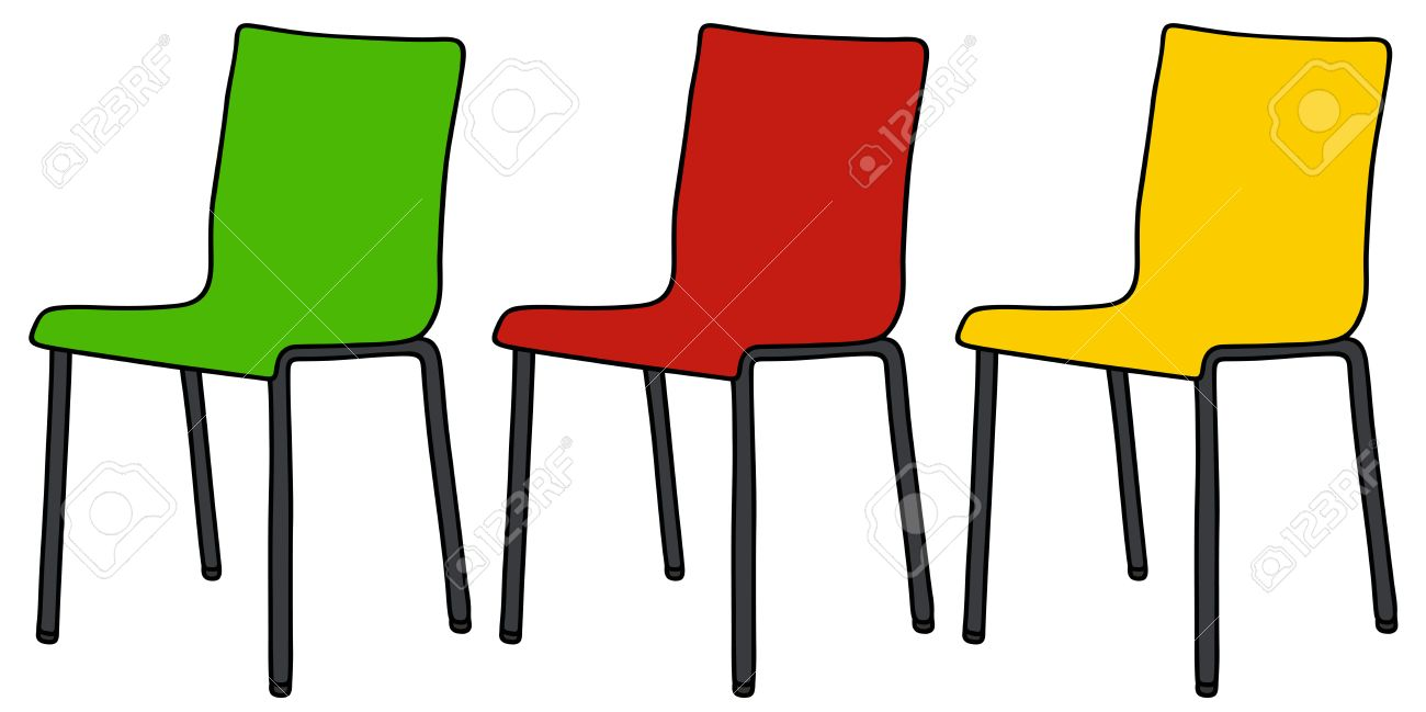 Simple Chair Drawing