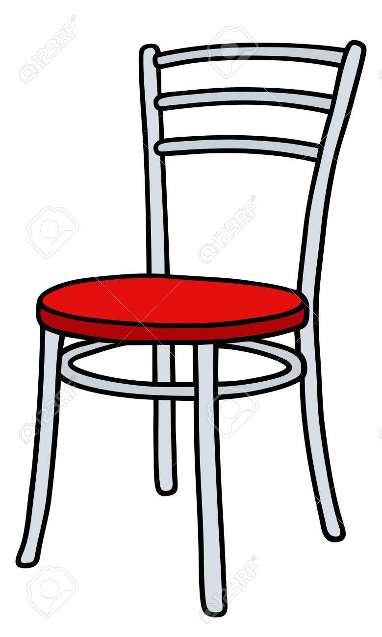 Dessin La Main Dune Chaise De Couleur Clip Art Libres Droits