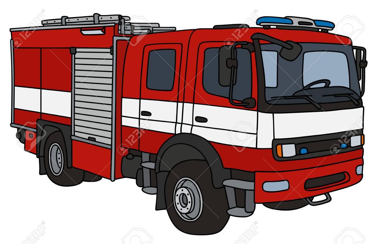 Dessin De Camion De Pompier