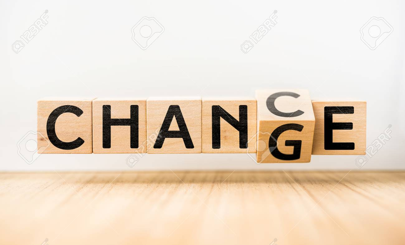 """CHANGE"""" & """"CHANCE"""" Concept Stock Photo, Picture And Royalty Free Image.  Image 80621204."""