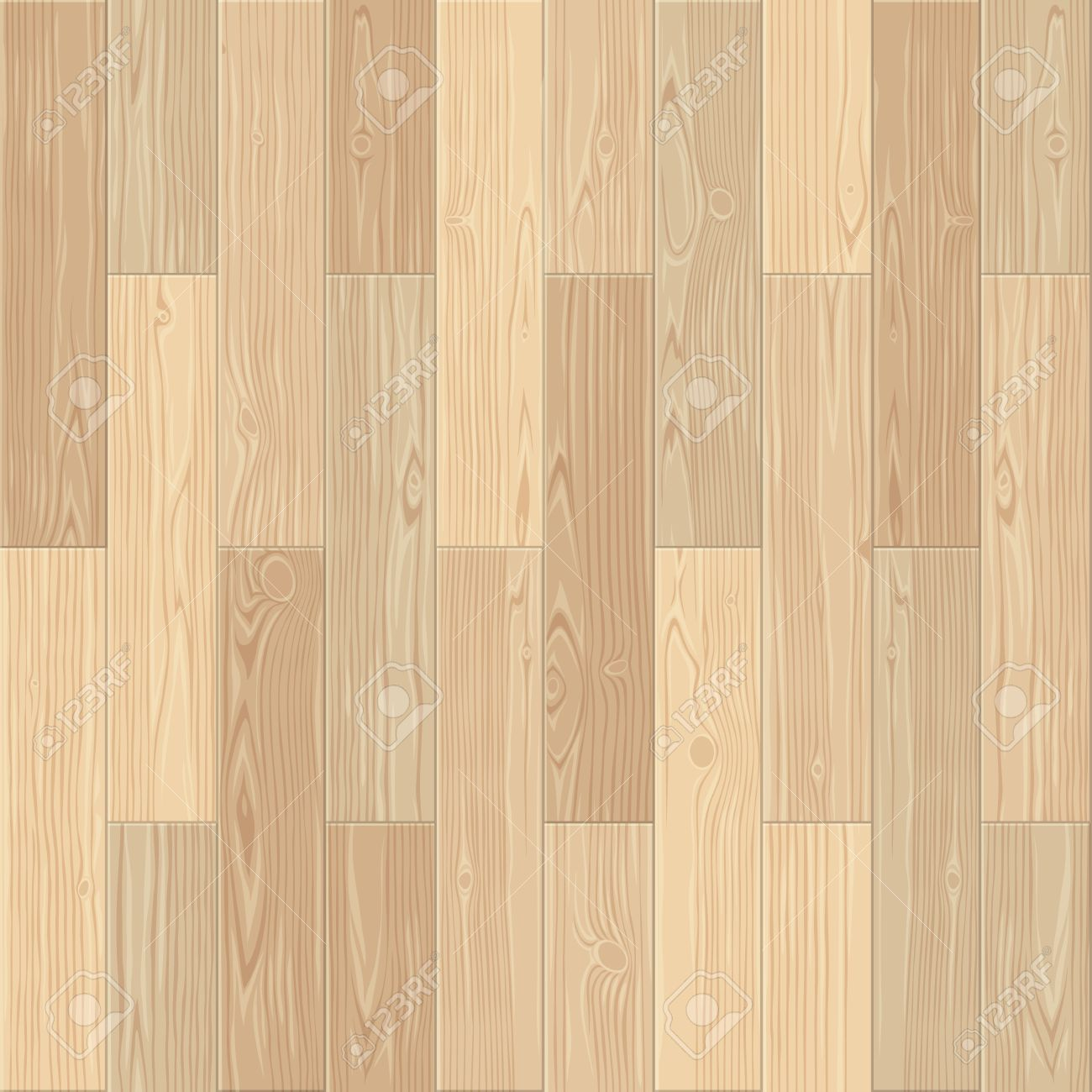 Light Parquet Seamless Floor Texture Stock Vector