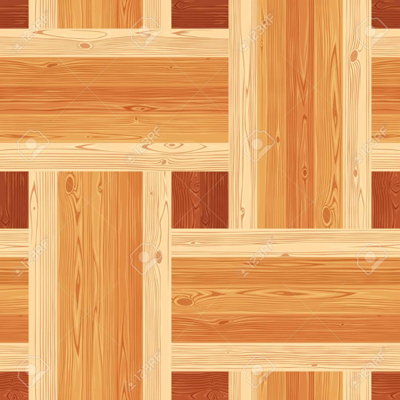 Square Platting Parquet Seamless Floor Texture Editable Pattern