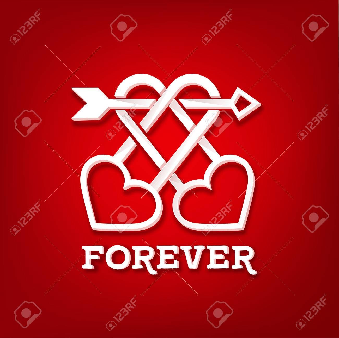 Starke Und Lange Ein Symbol Der Liebe Paar Schlosser Und Herzen