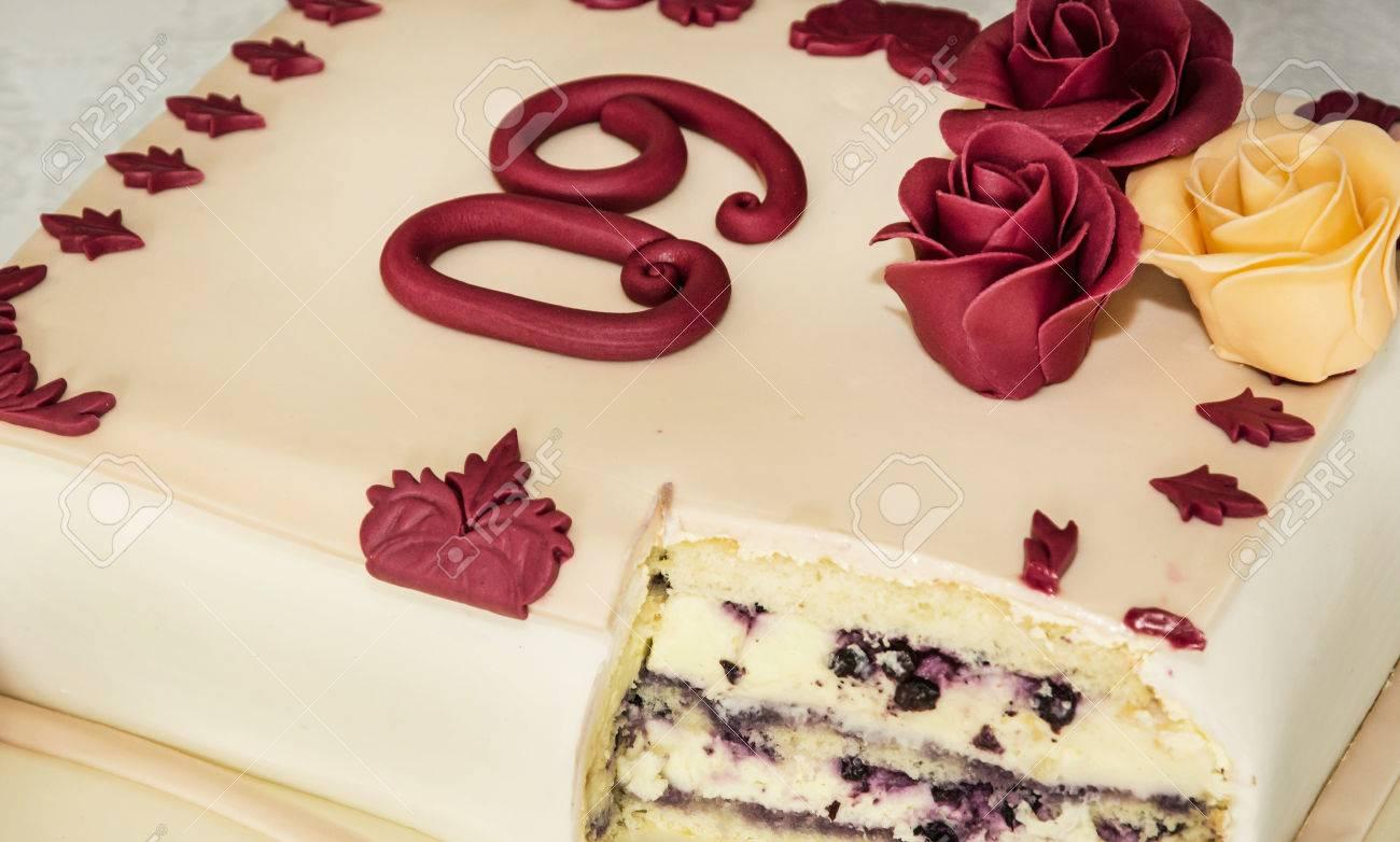 Big Leckeren Kuchen Fur 60 Geburtstag Symbolische Essen Ferien