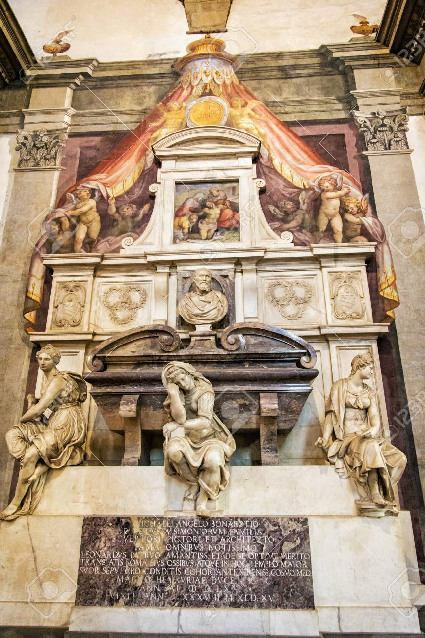 Image result for michelangelos tomb basilica of santa croce