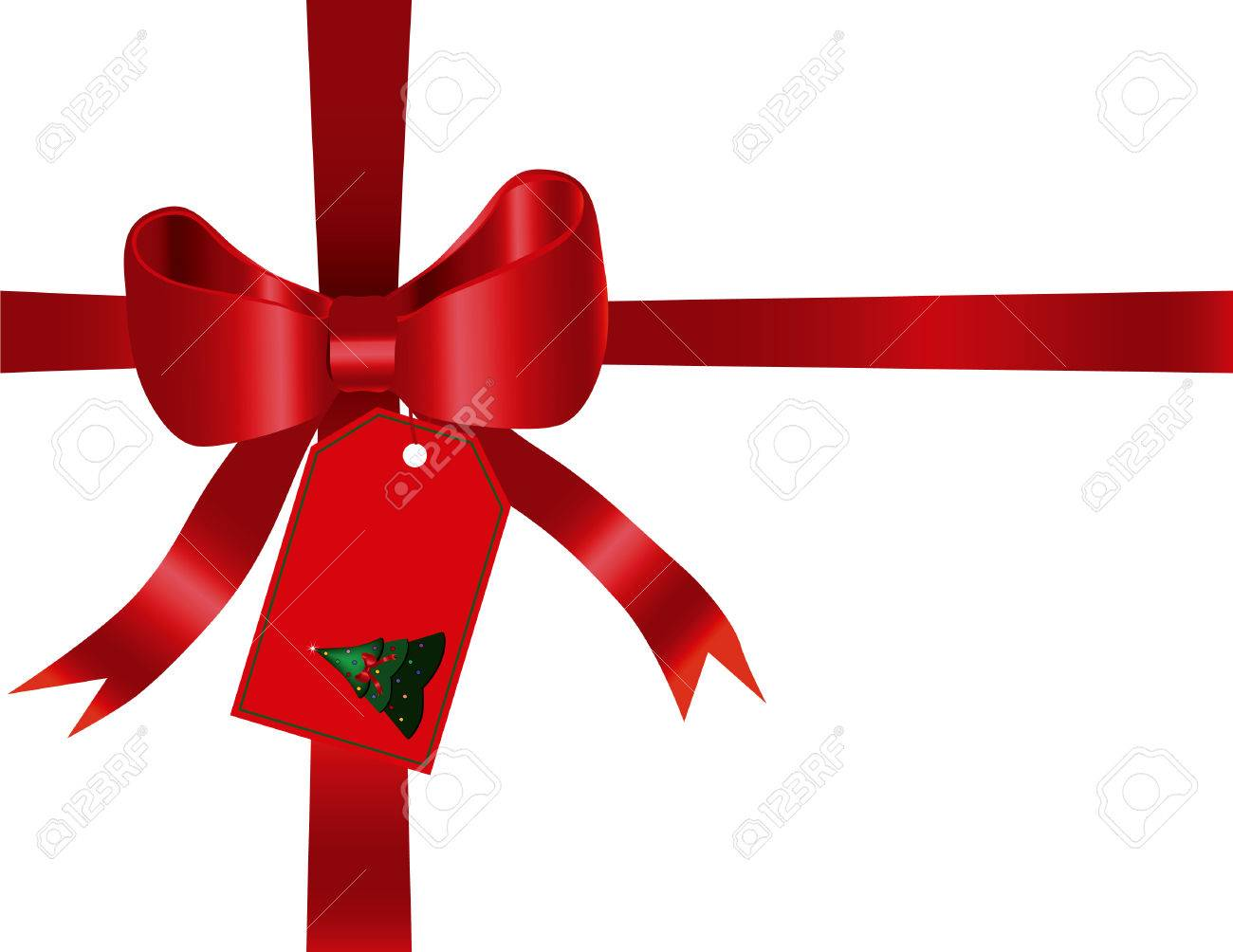 Red gift bow and ribbon designed in illustrator red gift bow and ribbon designed in illustrator 3923703 negle Choice Image
