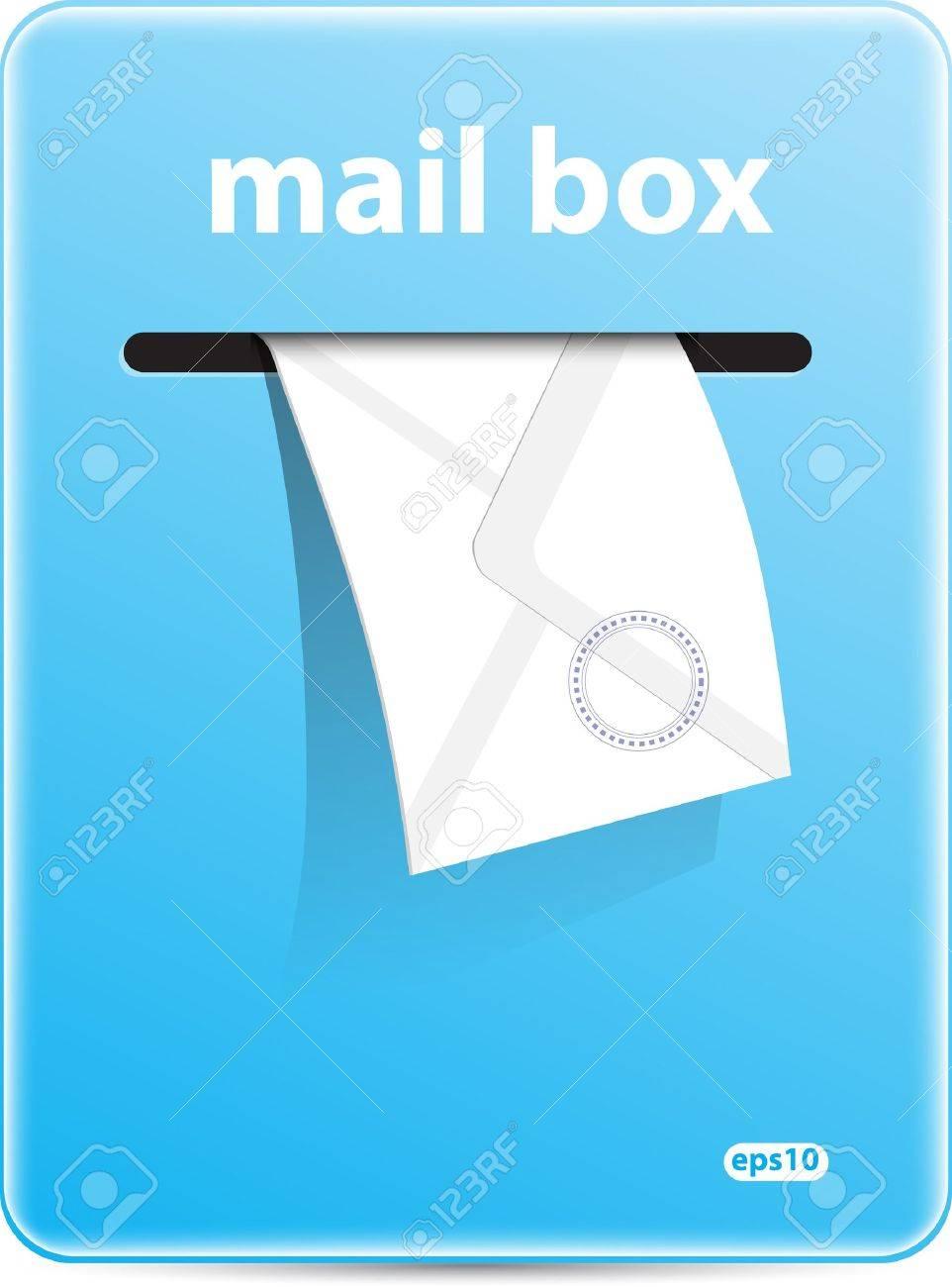 Mail box vector format Stock Vector - 11618289
