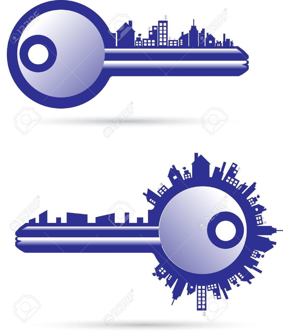 Keys real estate Stock Vector - 11786014