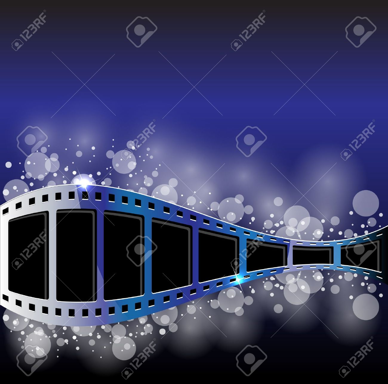 Film Strip Vector Background Royalty Free Cliparts Vectors And