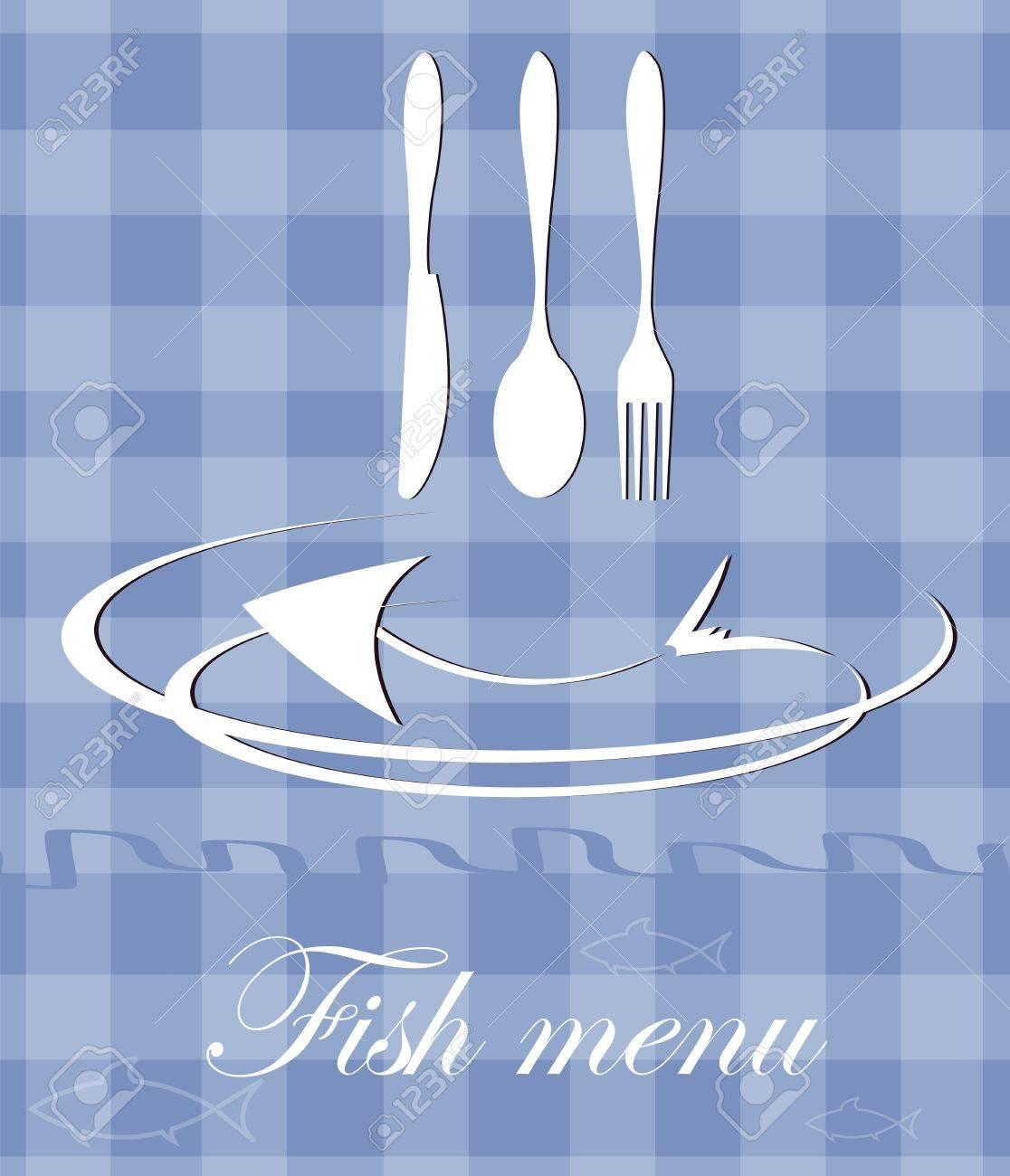 fish menu for restaurant Stock Vector - 12463858