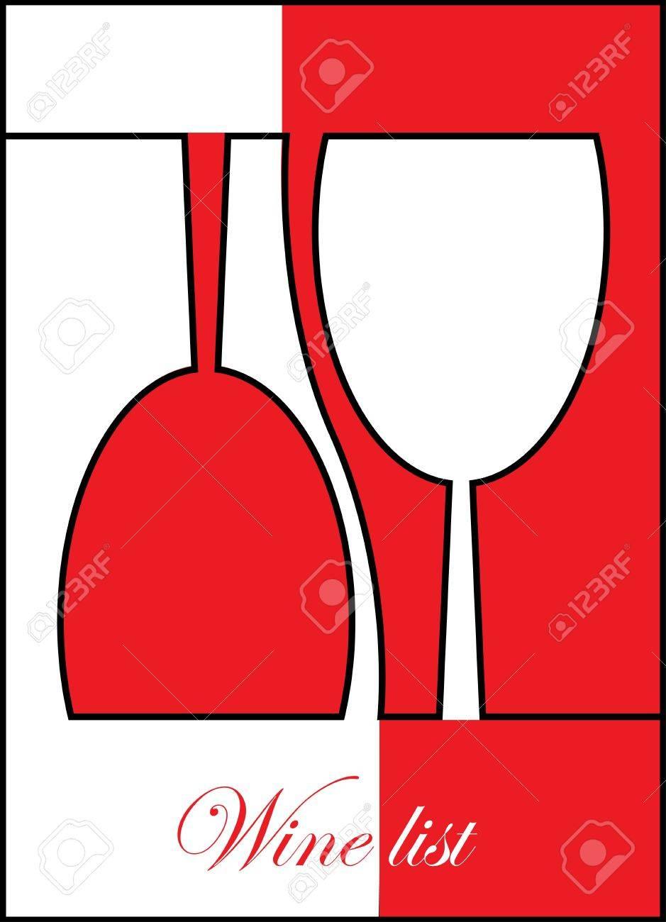 wine list design Stock Vector - 12949910