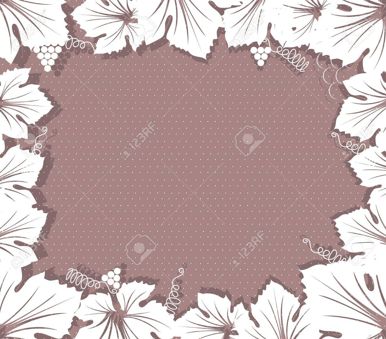 wine grapes background Stock Vector - 13846543