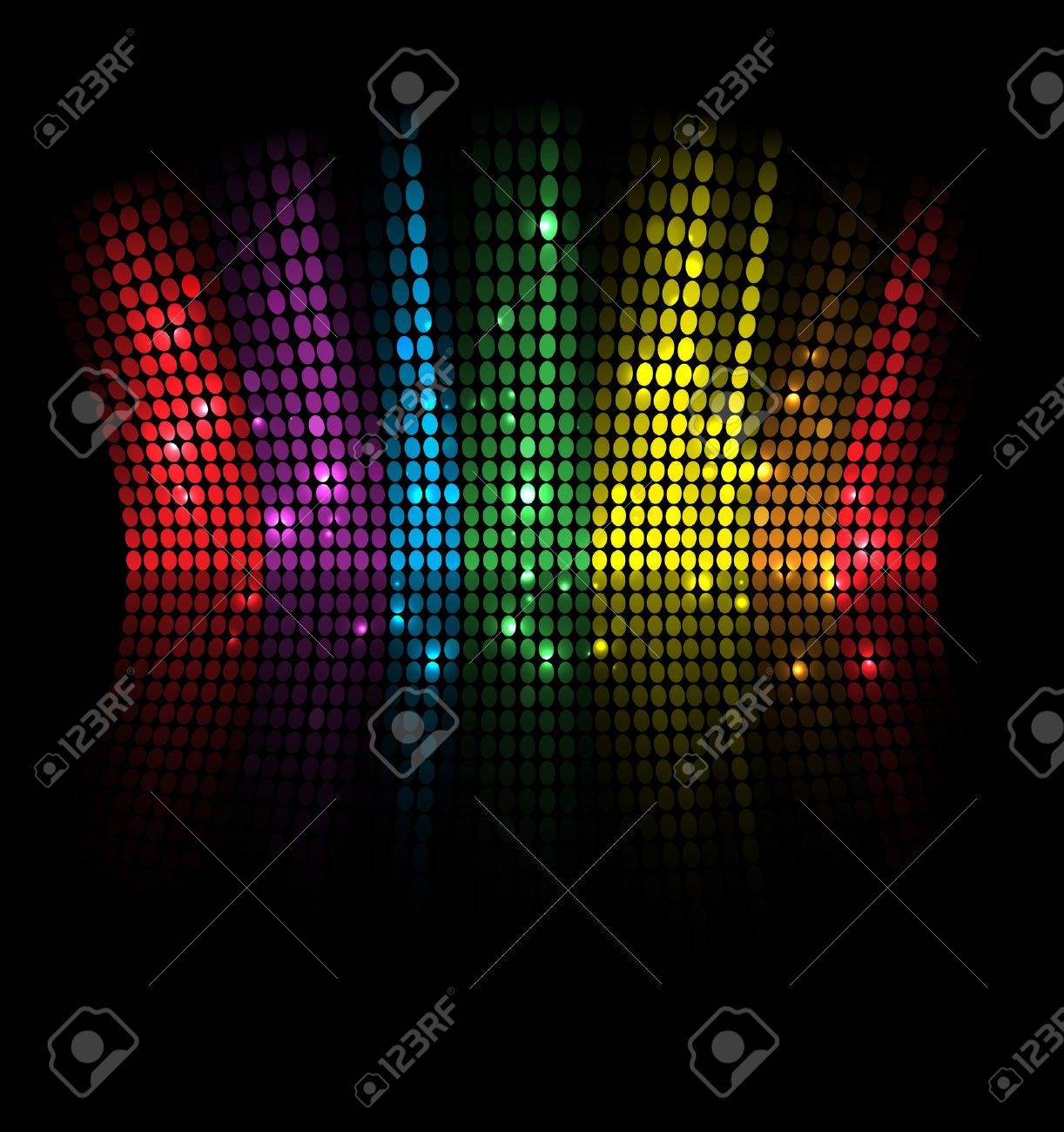 abstract music volume equalizer concept idea background - 15553777