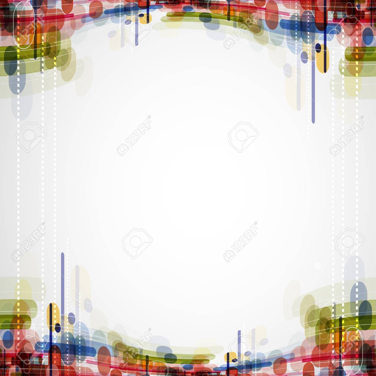 Abstract bright technology dynamic fade background Stock Photo - 15684994