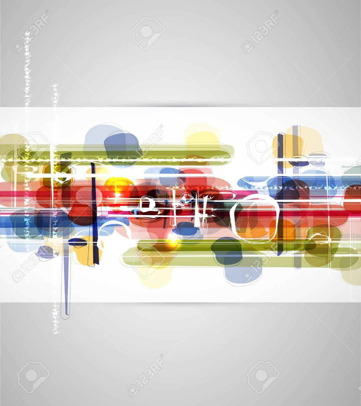 Abstract bright technology dynamic fade background banner Stock Photo - 15685008