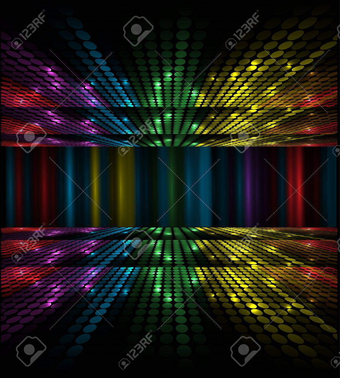 abstract music volume equalizer concept idea background Stock Vector - 15731767