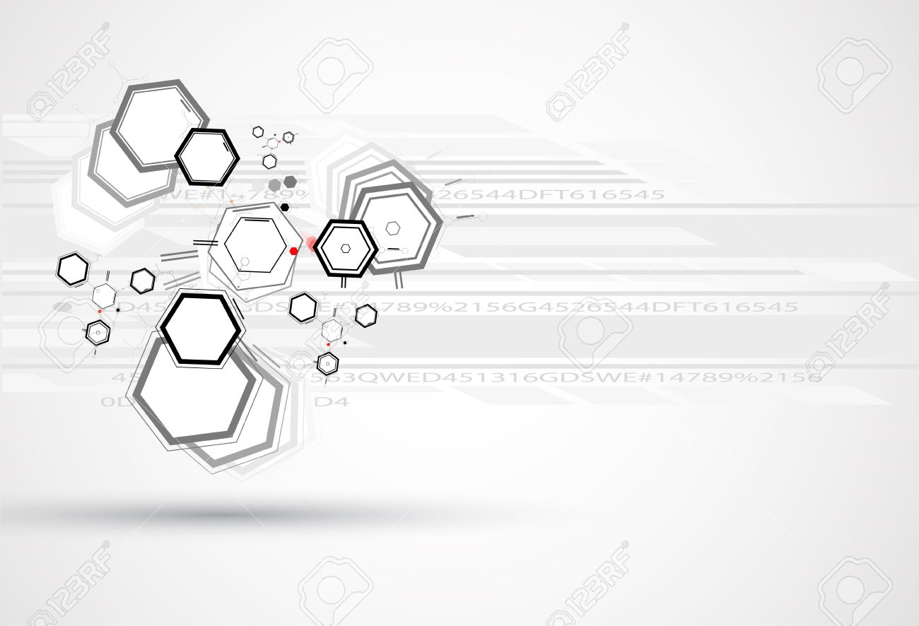 abstract chemical formula technology business science background Stock Vector - 25299195