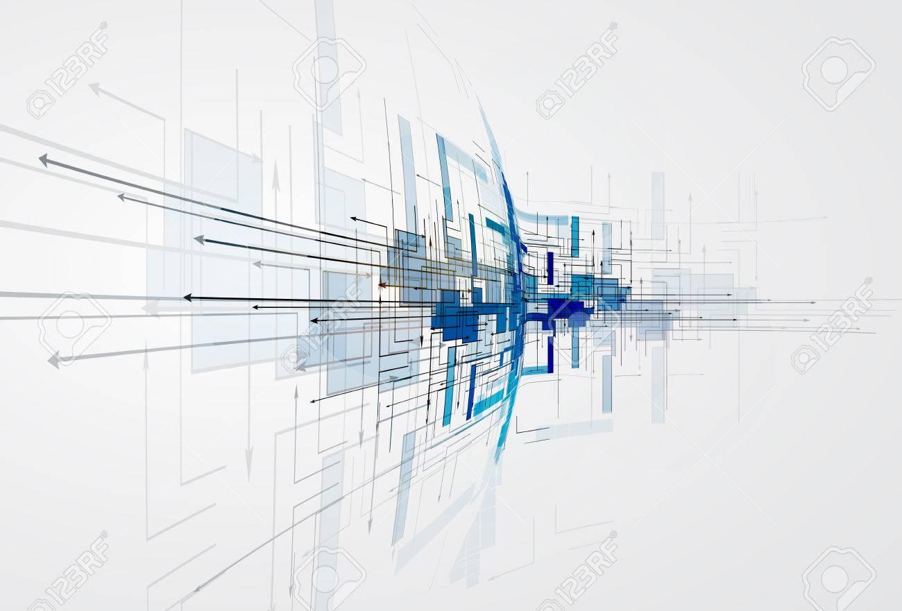 Integration Und Innivation Technologie. Die Besten Ideen Für Die  Präsentation Des Unternehmens Modell Standard