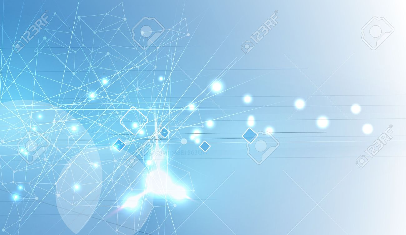 New future technology concept abstract background for business solution - 39521206
