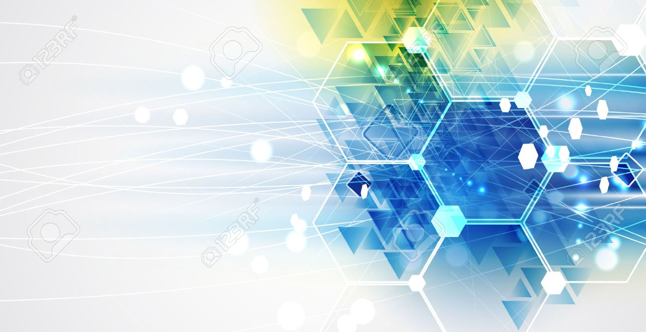 New future technology concept abstract background for business solution - 39876782