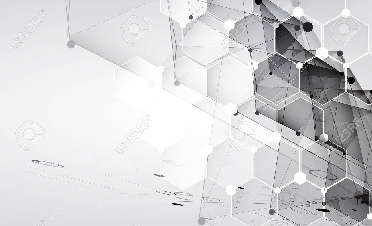 New future technology concept abstract background for business solution - 39876794