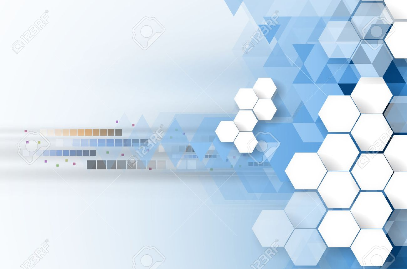 Technology abstract background collection for business solution ideas. Vector image - 46751427