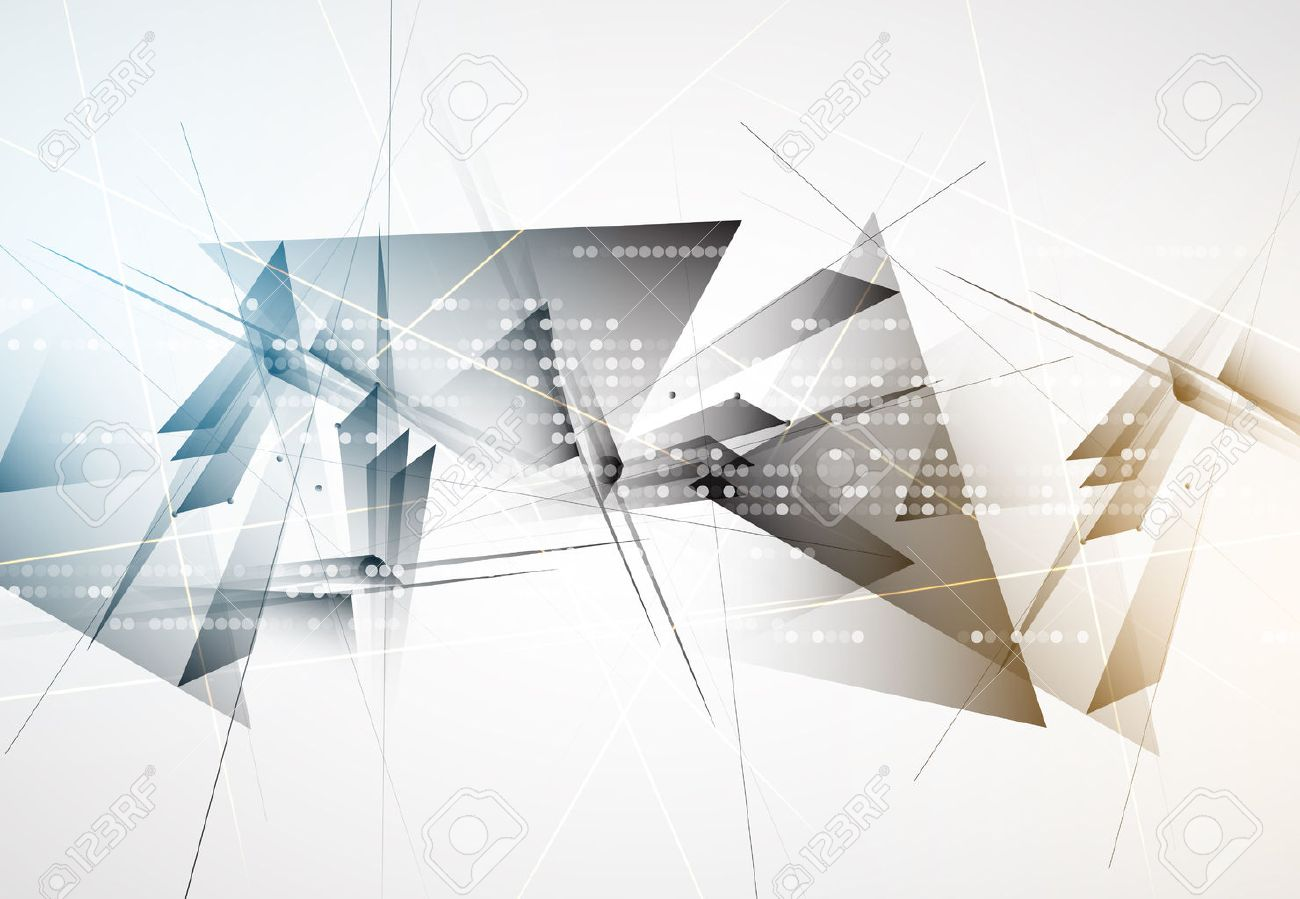 New future technology concept abstract background for business solution Stock Vector - 48491440