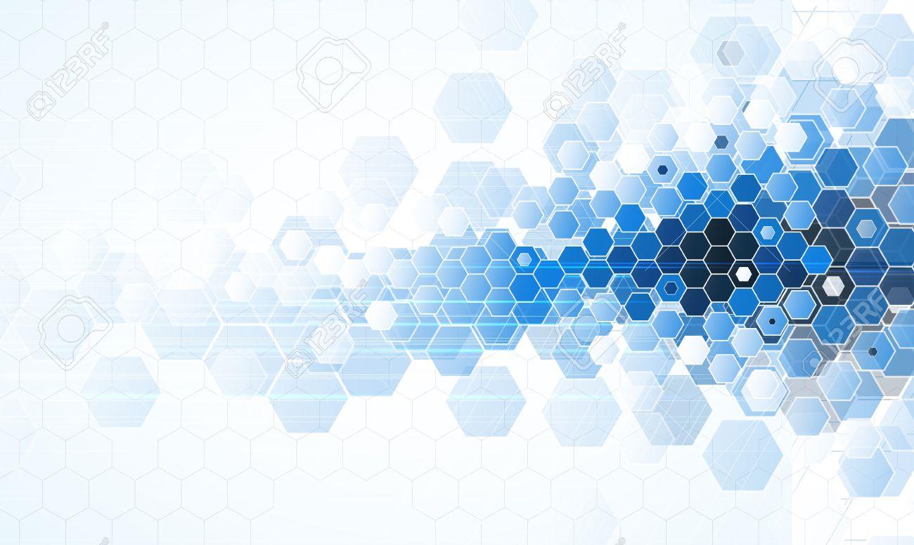 Famosos Scientific Future Technology. For Business Presentation. Flyer  VP07