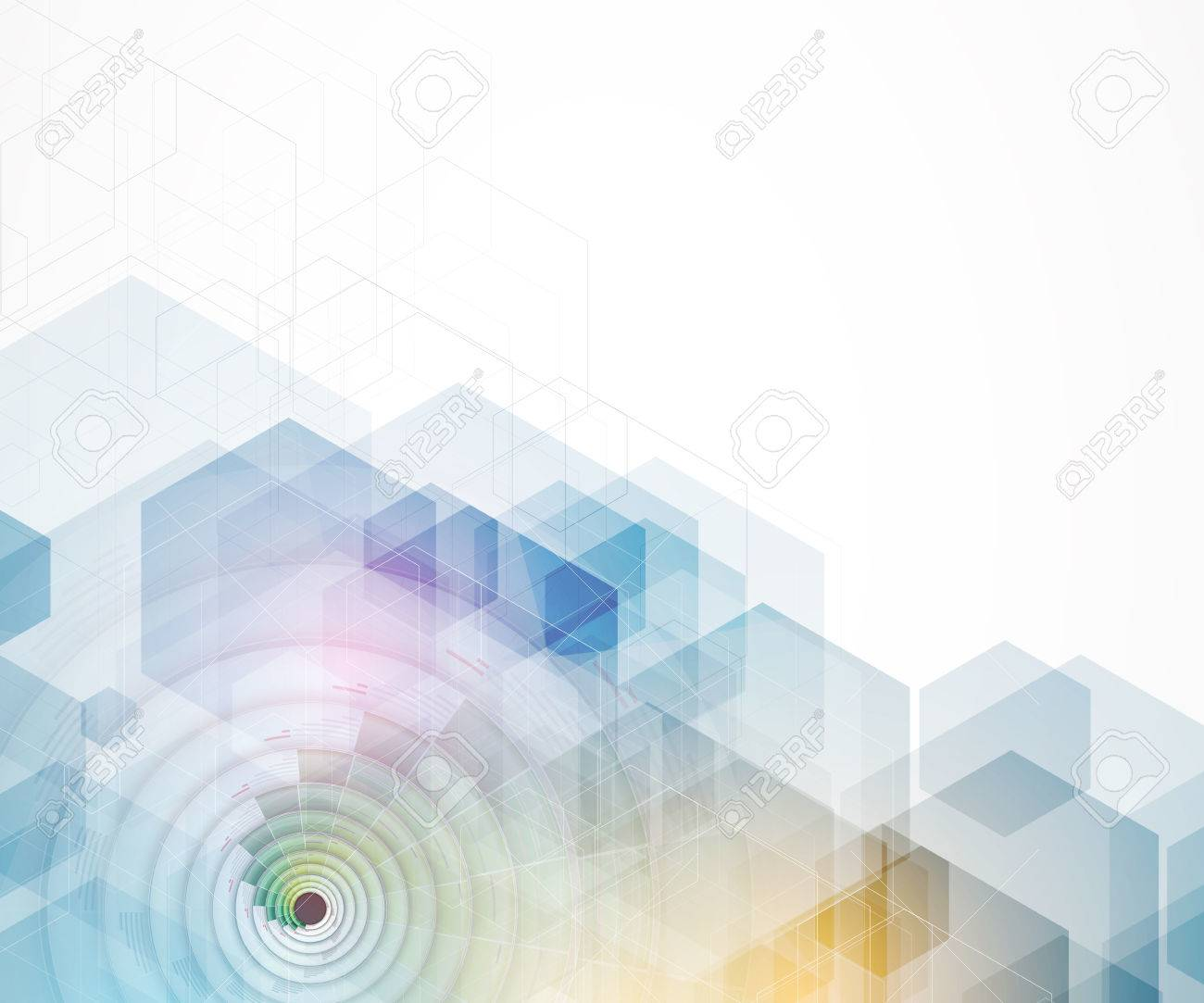 abstract futuristic fade computer technology business background - 51129638