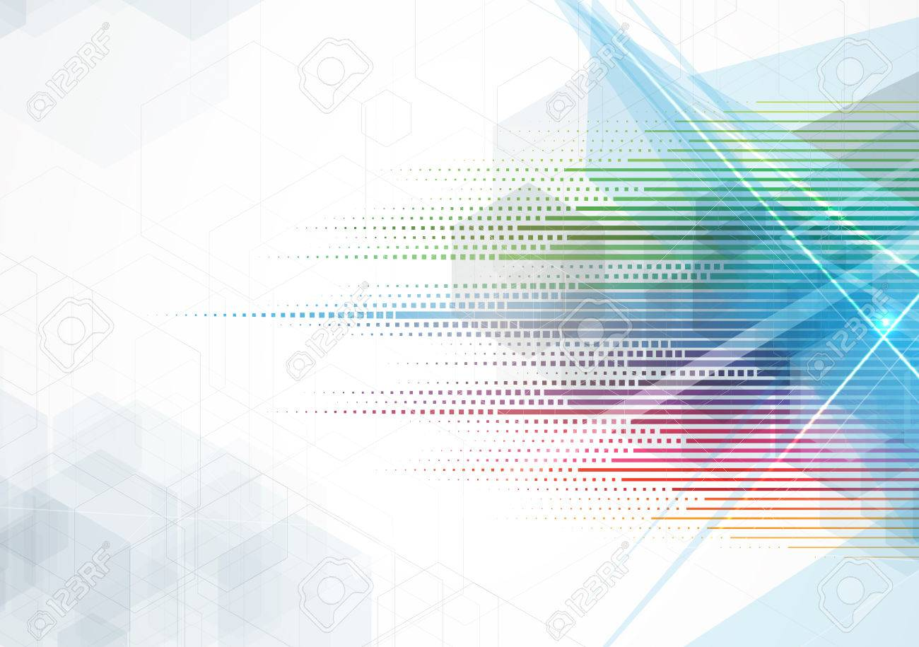 Abstract vector background. Futuristic technology style. Elegant background for business tech presentations. - 51300760