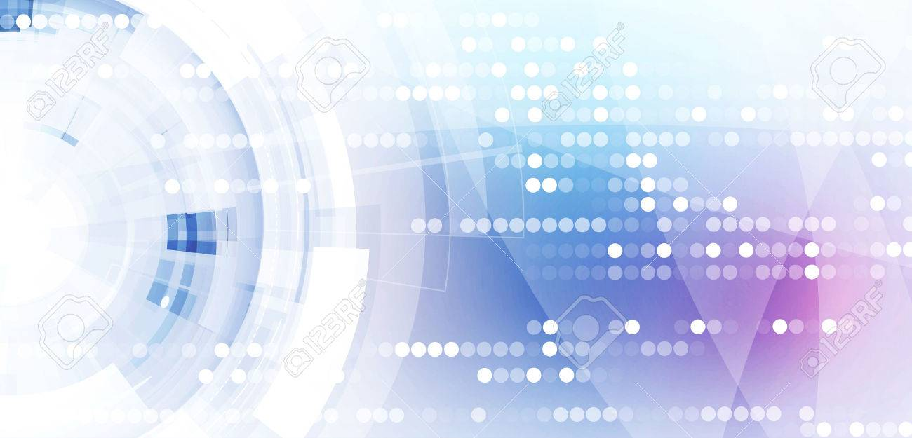 Abstract digital web site header. Banner tecnology background - 53123972