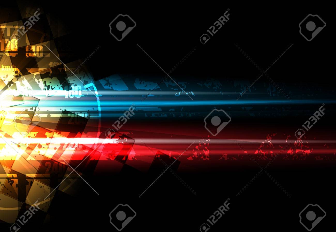 Racing square background, vector abstraction in racing car track - 58206815