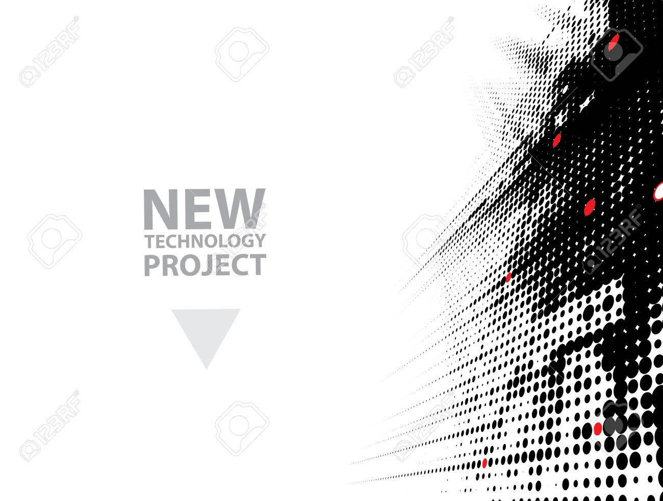 abstract futuristic fade computer technology business background - 64973241