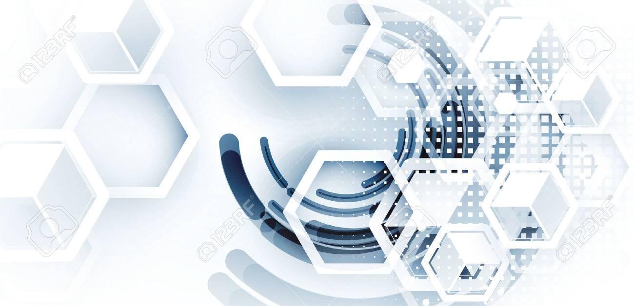 Digital technology world. Business virtual concept - 74680632