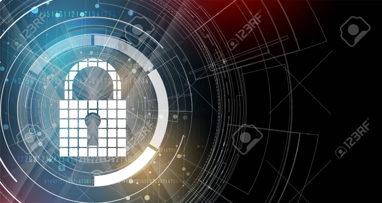 Cybersecurity and information or network protection. Future cyber technology web services for business and internet project - 78765388