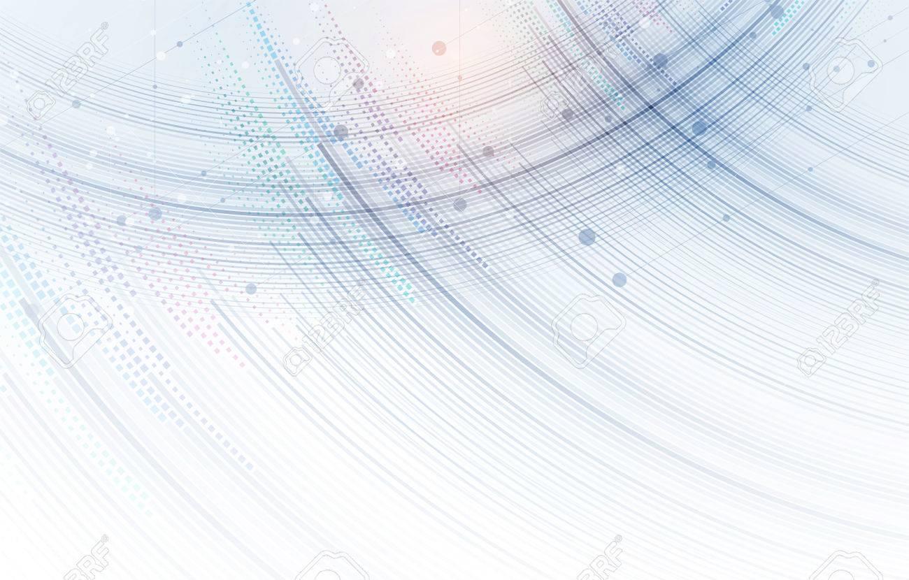 Abstract hexagon background. Technology polygonal design. Digital futuristic minimalism. Vector - 84665542