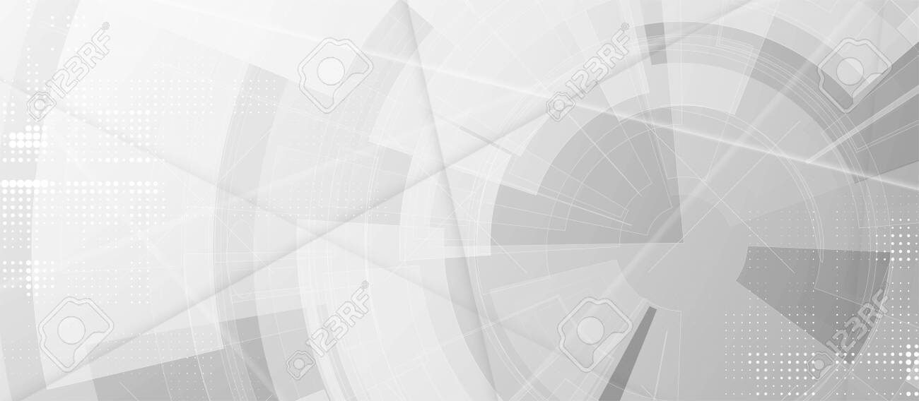 Abstract futuristic fade computer technology business - 141971088