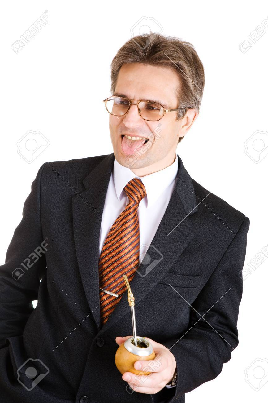 business man with mate Stock Photo - 3159422