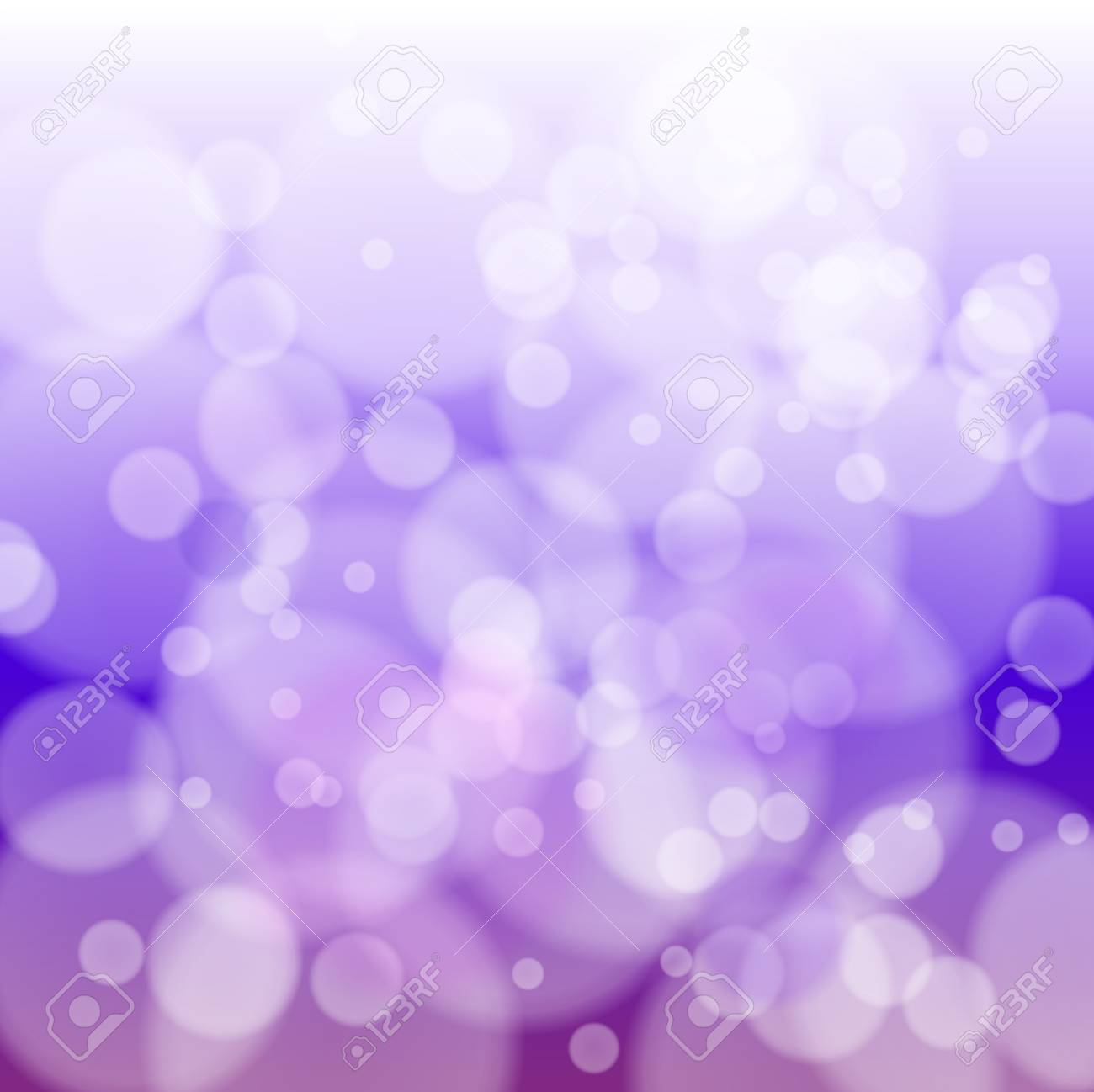 Violet bokeh abstract light background with stars.  illustration Stock Photo - 7305054