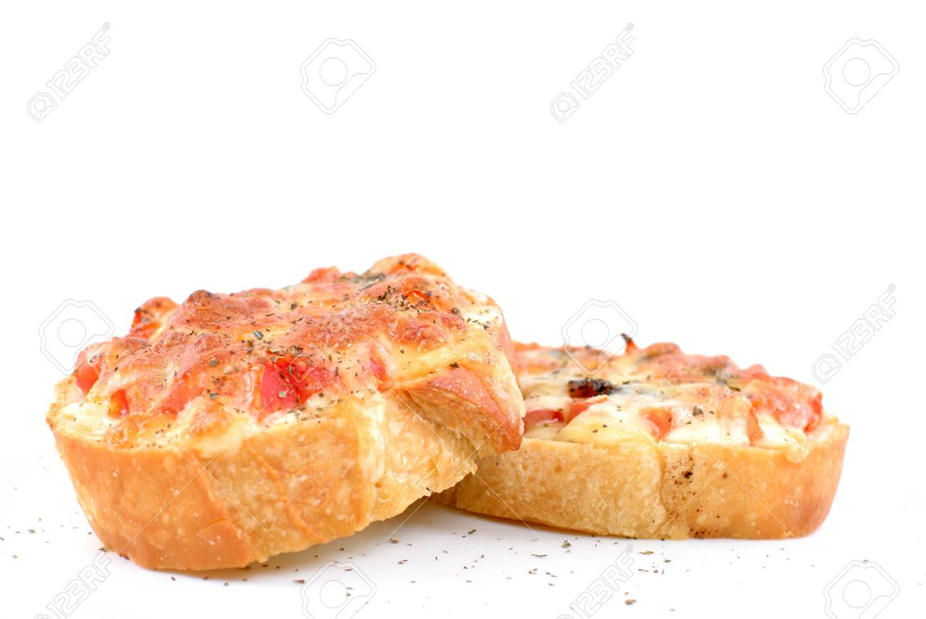 Italian Bread With Tomatoes Olive Oil Mozzarella Cheese And Stock Photo Picture And Royalty Free Image Image 2302350