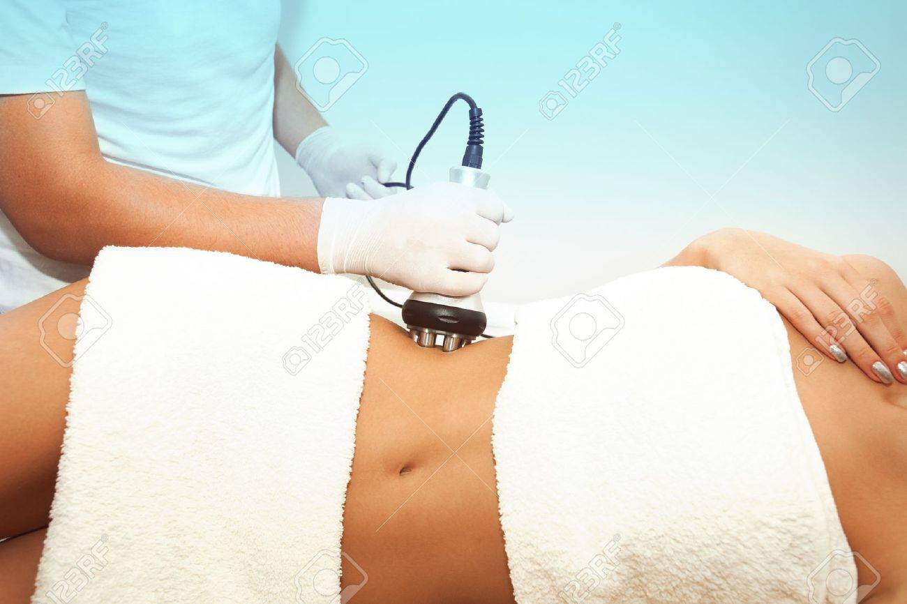 Cellulite Treatment Stomach Area Indoor Shot Stock Photo Picture And Royalty Free Image Image 20887027
