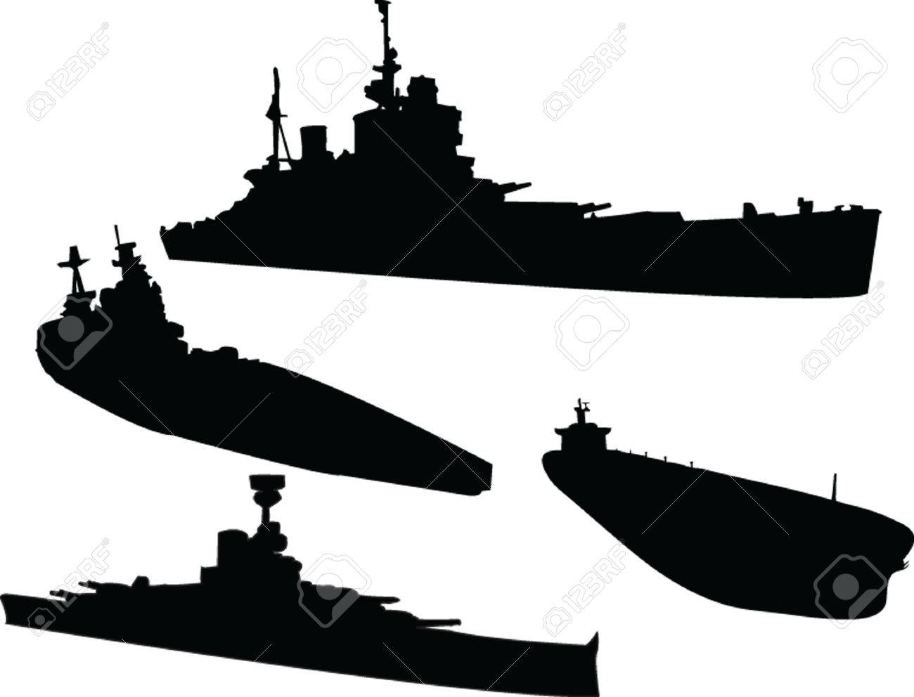 ships collection Stock Vector - 5127891